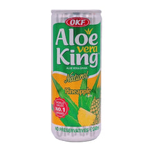 Load image into Gallery viewer, OKF King Aloe Vera Ananas 240ml Dose