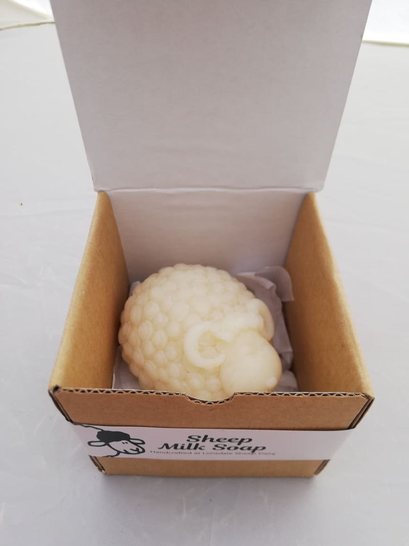 "Ram - ""Romeo"" handcrafted sheep milk soap at Lonsdale Sheep Dairy"