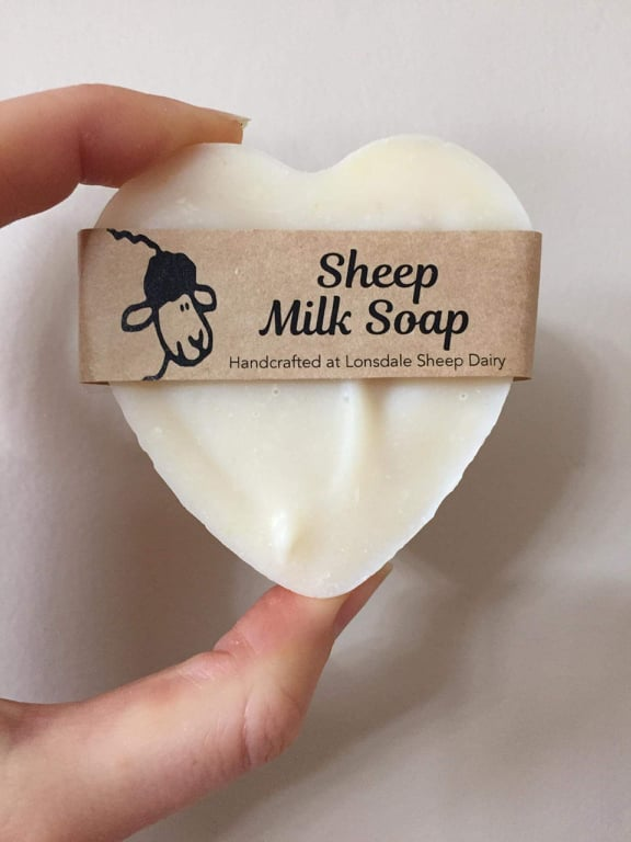 Heart Baaa Soap (only scrub surprise left!)