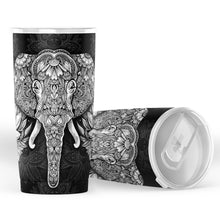 Load image into Gallery viewer, Elephant Mandala Tumbler