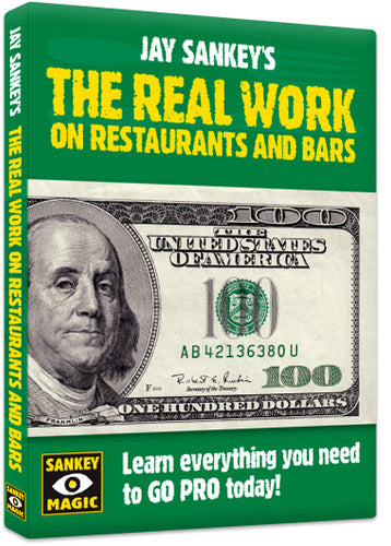 REAL WORK ON RESTAURANTS + BAR