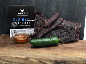 Old West Honey Jalapeño Jerky