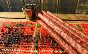 Beef Pepper Snack Sticks