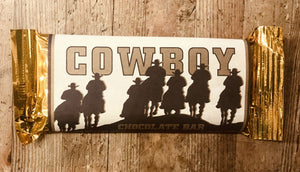 Cowboy Chocolate Bar