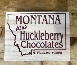 Wild Huckleberry Chocolates