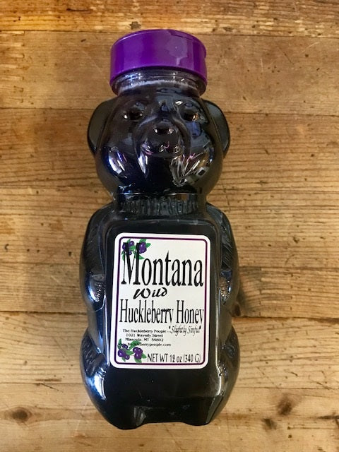 Wild Huckleberry Honey Bear