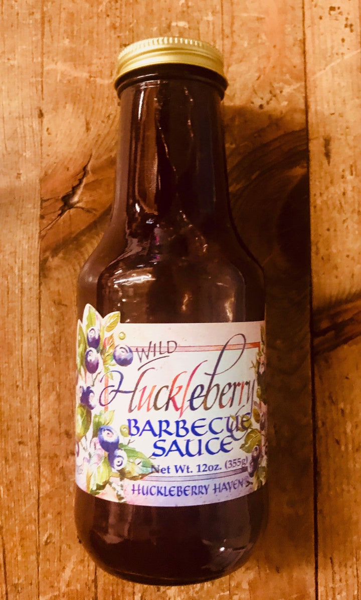 Wild Huckleberry Barbecue Sauce