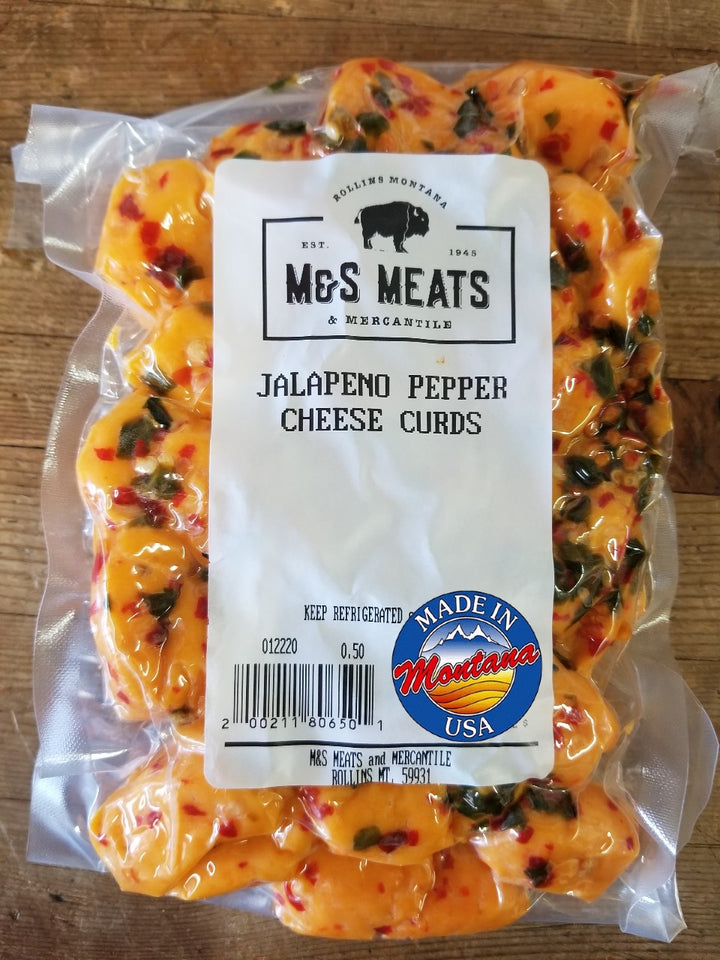Jalapeno Pepper Cheese Curds