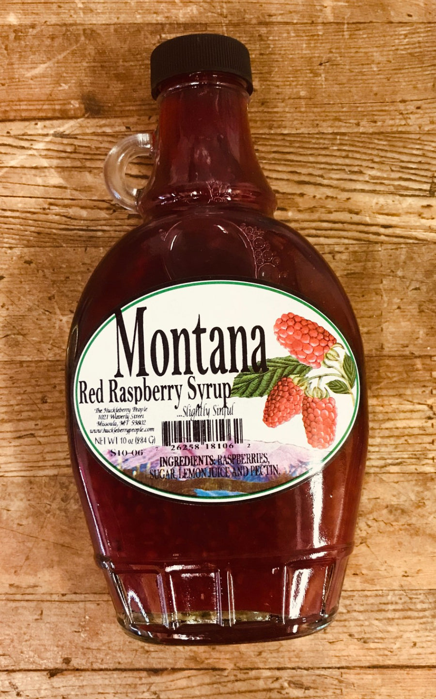 Montana Red Raspberry Syrup
