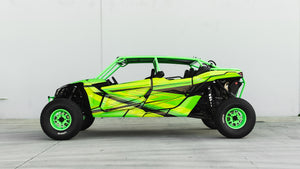 Canam X3 with a Twist of Lime!
