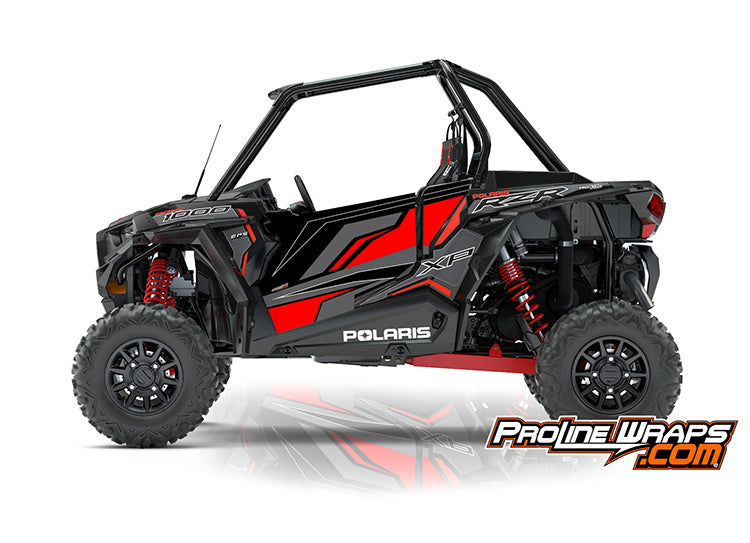 2018 Polaris RZR XP 1000 EPS Two Door Factory Graphic Kit Ride Command Edition
