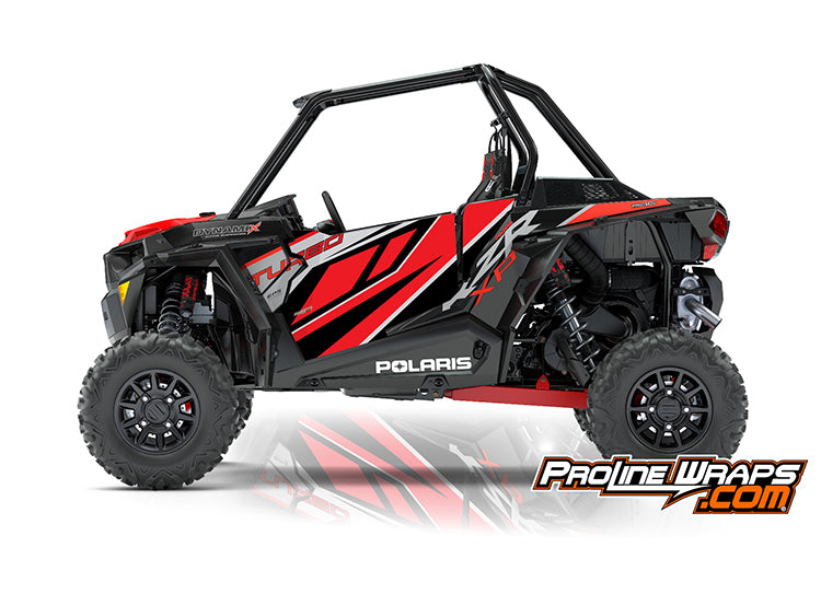 2018 Polaris RZR XP Turbo EPS Two Door Factory Graphic Kit Dynamix Edition