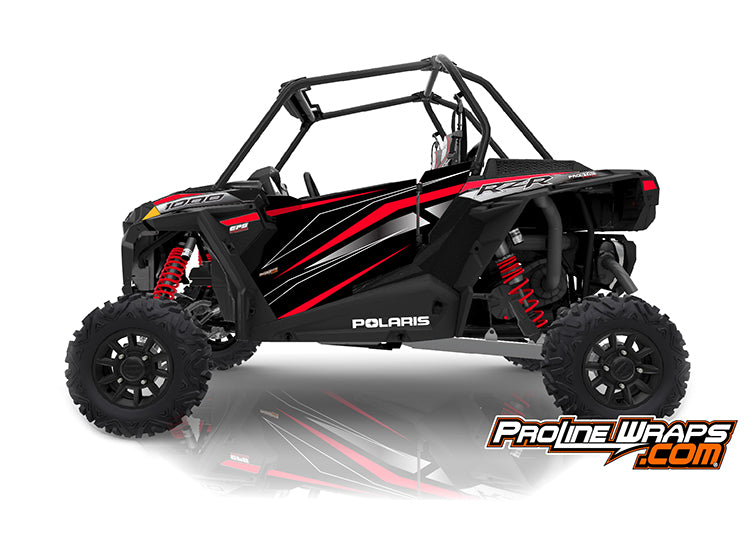 2019 Polaris RZR XP 1000 EPS Two Door Factory Graphic Kit Ride Command Black Pearl