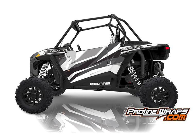 2019 Polaris RZR XP 1000 EPS Two Door Factory Graphic Kit White Pearl