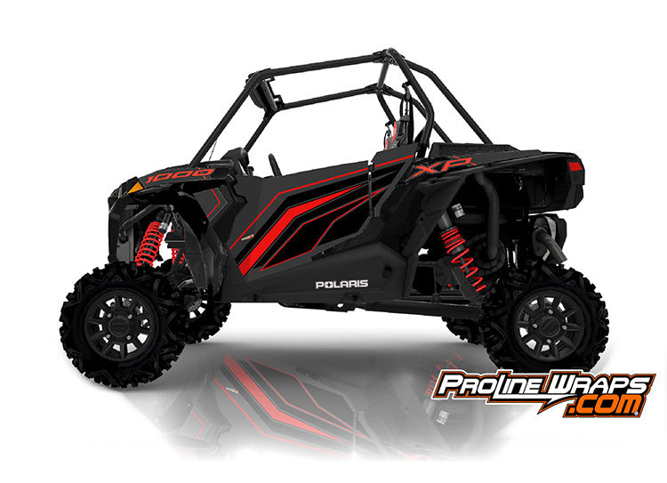 2020 Polaris RZR XP 1000 EPS Two Door Factory Graphic Kit Black Pearl