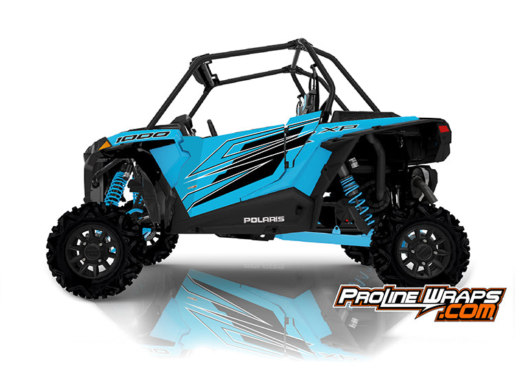 2020 Polaris RZR XP 1000 EPS Two Door Factory Graphic Kit Sky Blue