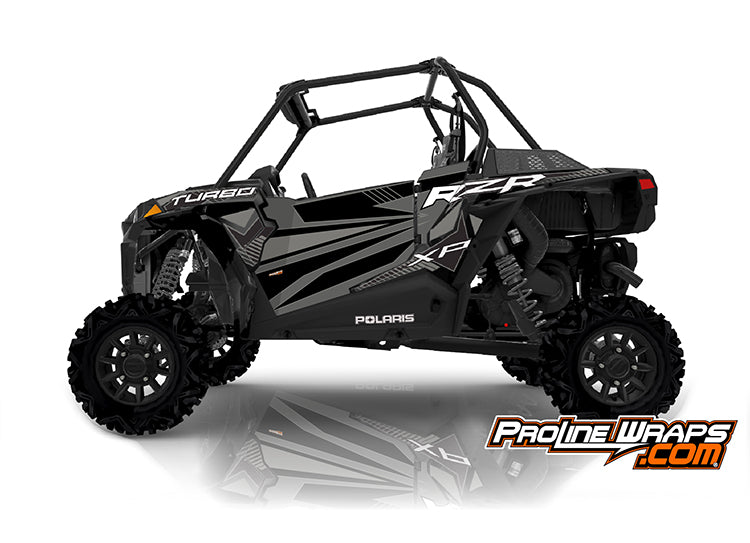 2020 Polaris RZR XP Turbo EPS Two Door Factory Graphic Kit Stealth Black