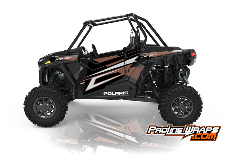 2021 Polaris RZR XP 1000 Sport Two Door Factory Graphic Kit Matte Copper