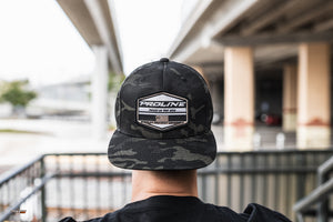 Proline Camo Patch - Snapback Black