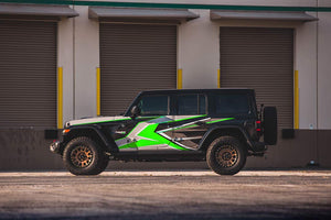Proline Wraps - Jeep Wrangler JL Wrap Kit 4DR - Ridge