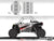Proline Wraps Series Graphics - Beast - Polaris RZR XP 1000