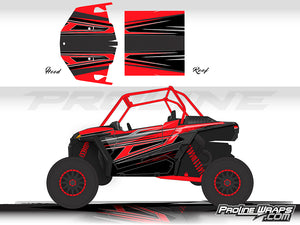 Proline Wraps Series Graphics - Demon - Polaris RZR XP 1000