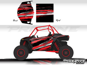 Proline Wraps Series Graphics - Grunge - Polaris RZR XP 1000