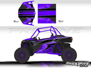 Proline Wraps Series Graphics - Poison - Polaris RZR XP 1000