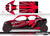 Proline Wraps Series Graphics - Wipeout - Can-Am Maverick X3 - 4 Door