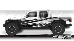 Proline Wraps - Jeep Gladiator JT Wrap Kit  - Burnout