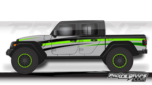 Proline Wraps - Jeep Gladiator JT Wrap Kit  - Grade