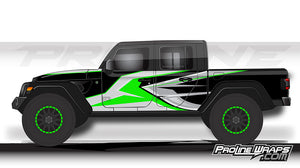 Proline Wraps - Jeep Gladiator JT Wrap Kit  - Ridge