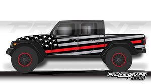 Proline Wraps - Jeep Gladiator JT Wrap Kit  - Salute
