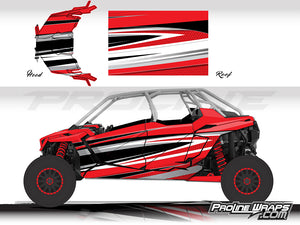 Proline Wraps Series Graphics - Atomic - Polaris RZR Pro XP4
