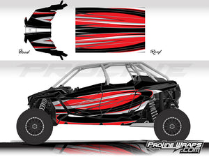 Proline Wraps Series Graphics - Cyclone - Polaris RZR Pro XP4