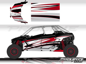 Proline Wraps Series Graphics - Deviant - Polaris RZR Pro XP4
