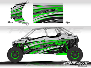 Proline Wraps Series Graphics - Native - Polaris RZR Pro XP4