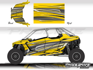 Proline Wraps Series Graphics - Vortex - Polaris RZR Pro XP4