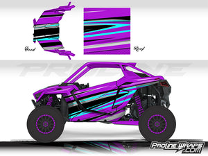 Proline Wraps Series Graphics - Atomic - Polaris RZR Pro XP