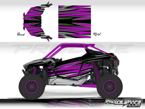 Proline Wraps Series Graphics - Blade - Polaris RZR Pro XP