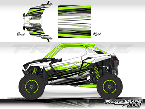 Proline Wraps Series Graphics - Blaze - Polaris RZR Pro XP