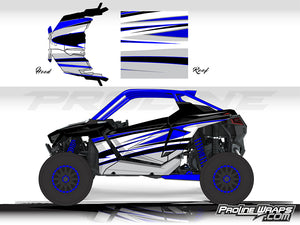 Proline Wraps Series Graphics - Deviant - Polaris RZR Pro XP
