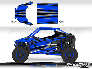 Proline Wraps Series Graphics - Throttle - Polaris RZR Pro XP