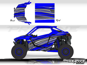 Proline Wraps Series Graphics - Vortex - Polaris RZR Pro XP
