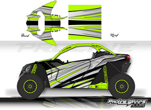 Proline Wraps Series Graphics - Galaxy - Can-Am Maverick X3 - 2 Door