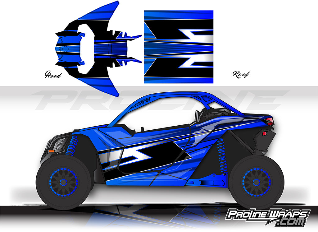Proline Wraps Series Graphics - Titan - Can-Am Maverick X3 - 2 Door