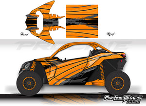 Proline Wraps Series Graphics - Tread - Can-Am Maverick X3 - 2 Door