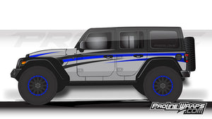 Proline Wraps - Jeep Wrangler JL Wrap Kit 4DR - Grade