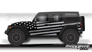 Proline Wraps - Jeep Wrangler JL Wrap Kit 4DR - Salute