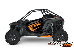 2021 Polaris RZR Pro XP 2- Onyx Black- Factory Aluminum Doors Graphics Kit